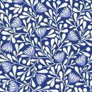Elliot Avenue *Organic Cotton* by Cloud 9, Batist, Blumen, royalblau